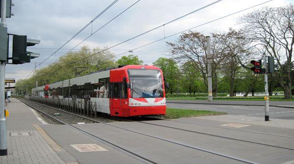 Der öffentliche PNV in Köln-Hürth Ortshofstr.
