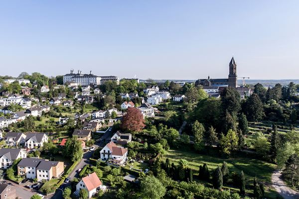 Blick auf Bergisch Gladbach bei Köln